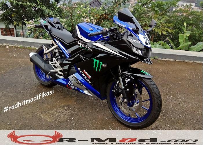 Body Belakang Model Kawasaki H2 For R15 V3 Radhit Modifikasi