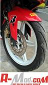 "SPAKBOR DEPAN MODEL ""R1"" For Yamaha R15"